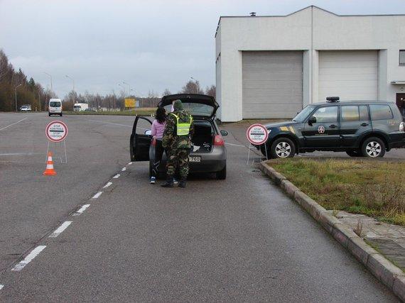 VSAT Varėnos rinktinės nuotr./Prie sienos su Lenkija – kontrolės atnaujinimo pratybos