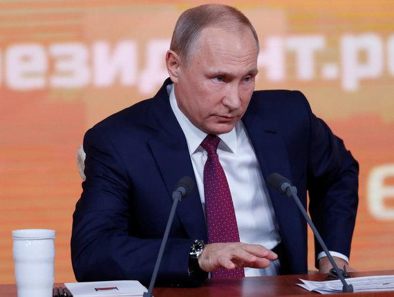 """""""Reuters""""/""""Scanpix"""" nuotr./Vladimiras Putinas"""