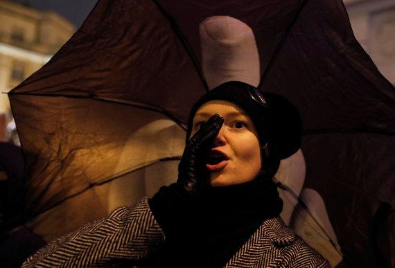 """Reuters""/""Scanpix"" nuotr./Protestas Lenkijoje"