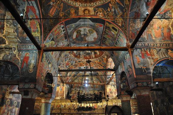 """""""Europa Nostra""""/K. Kallamata nuotr./Albanijos Voskopoja ir Vithkuqi gyvenvietėse esančios XVII–XVIII a. bažnyčios"""