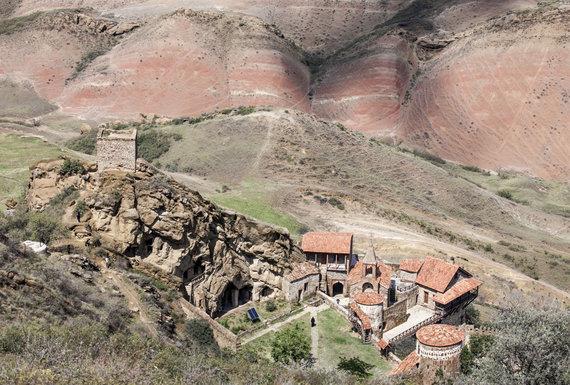 """Europa Nostra""/Shalva Lejava nuotr./VI a. David Garedži vienuolynų kompleksas Gruzijoje"