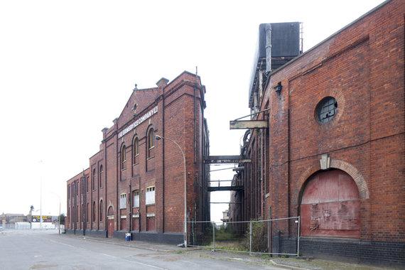 """""""Europa Nostra""""/Andy Marshall nuotr./Grimsbio ledų fabrikas Didžiojoje Britanijoje"""