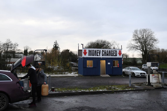 """""""Reuters""""/""""Scanpix"""" nuotr./Riba tarp Airijos ir Šiaurės Airijos"""