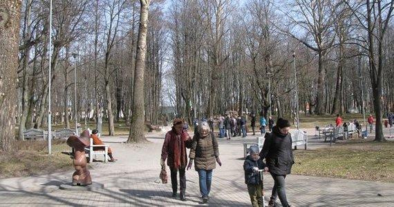 Dalios Bikauskaitės nuotr./Klaipėdos skulptūrų parkas