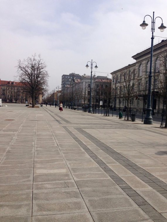 Dalios Staponkutės nuotr./Vilnius: urbanistinės erdvės be medžių – erdvės be žmonių