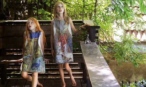 Organizatorių nuotr./Kostiumo dizainas 1. Edukaciniai rūbai vaikams. A. Beinaravičiūtė
