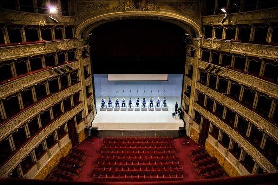 """Tiziana Tomasulo nuotr./Opera """"Geros dienos!"""" Romoje"""