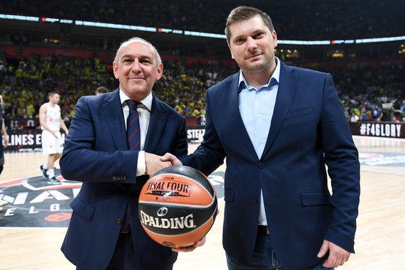 Getty Images/Euroleague.net nuotr./Belgradas 2018-ųjų gegužę perdavę estafetę Vitorijai