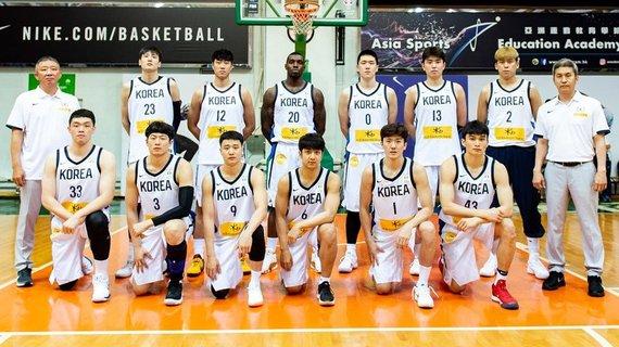 FIBA nuotr./Pietų Korėjos rinktinė