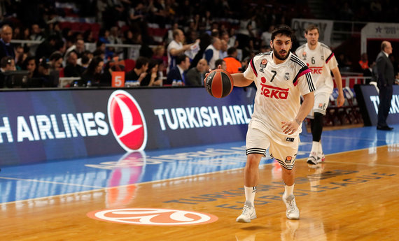 Getty Images/Euroleague.net nuotr./Facundo Campazzo 2015 m.