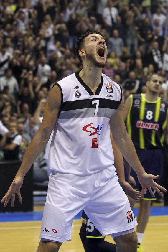 Getty Images/Euroleague.net nuotr./Joffrey Lauvergne'as 2013 m.