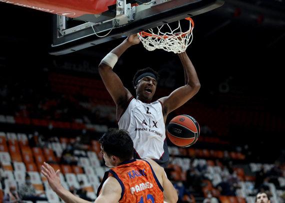 Getty Images/Euroleague.net nuotr./Zachas LeDay
