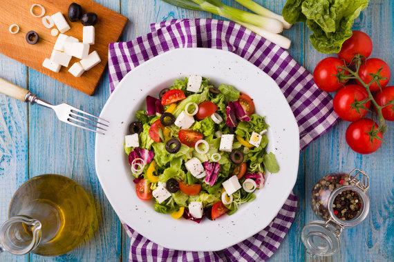 123RF.com nuotr./Graikiškos salotos