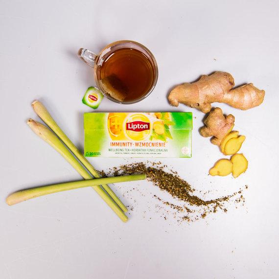 """Partnerio nuotr./""""Lipton"""" arbata su imbieru"""