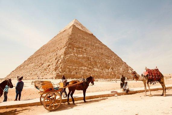 Unsplash.com nuotr/Kairo piramidės