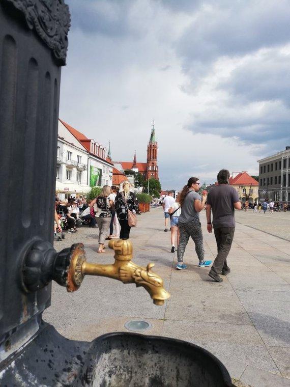 Aido Žiliuko nuotr. /Balstogės senamiestis – jauki vieta pasivaikščioti ir užkąsti