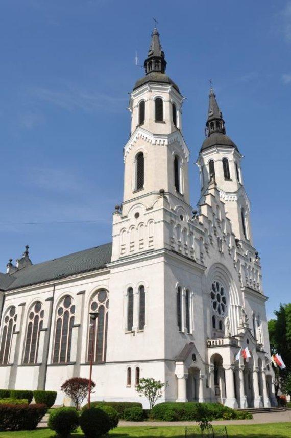 J. Koniecko (Augustavo TIC) nuotr./Jėzaus širdies bazilika