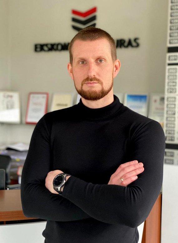 """Partnerio nuotr./Donatas Pocius, UAB """"Ekskomisarų Biuras"""" Fizinės ir elektroninės saugos vadovas"""