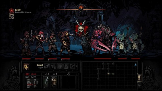 Partnerio nuotr./Darkest Dungeon