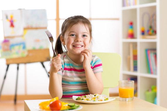 Shutterstock nuotr./Vaikų mityba