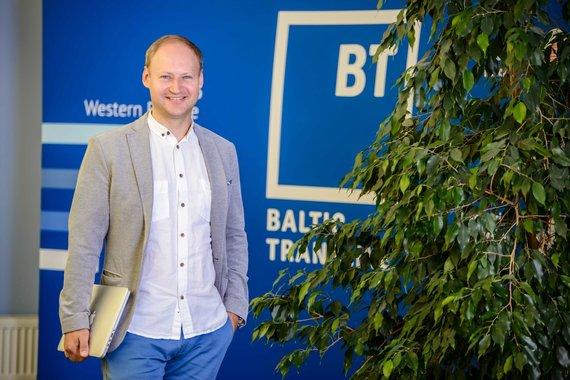 """Partnerio nuotr./""""Baltic transline"""" Logistikos vadovas Donatas Nickus"""