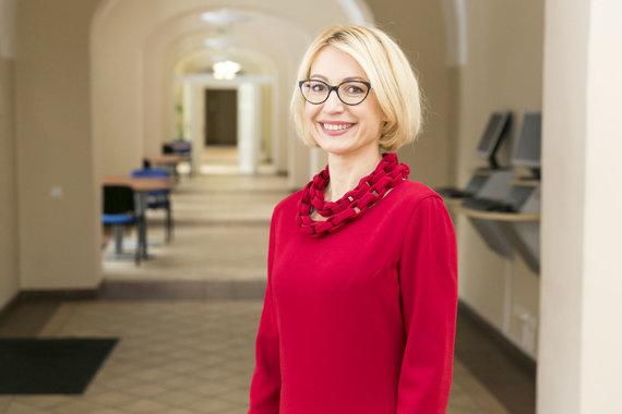 ISM nuotr./ISM universiteto studijų prorektorė profesorė Viltė Auruškevičienė