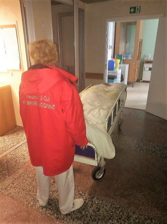 Kauno klinikinės ligoninės nuotr./Kauno klinikinės ligoninės Infekciniame skyriuje