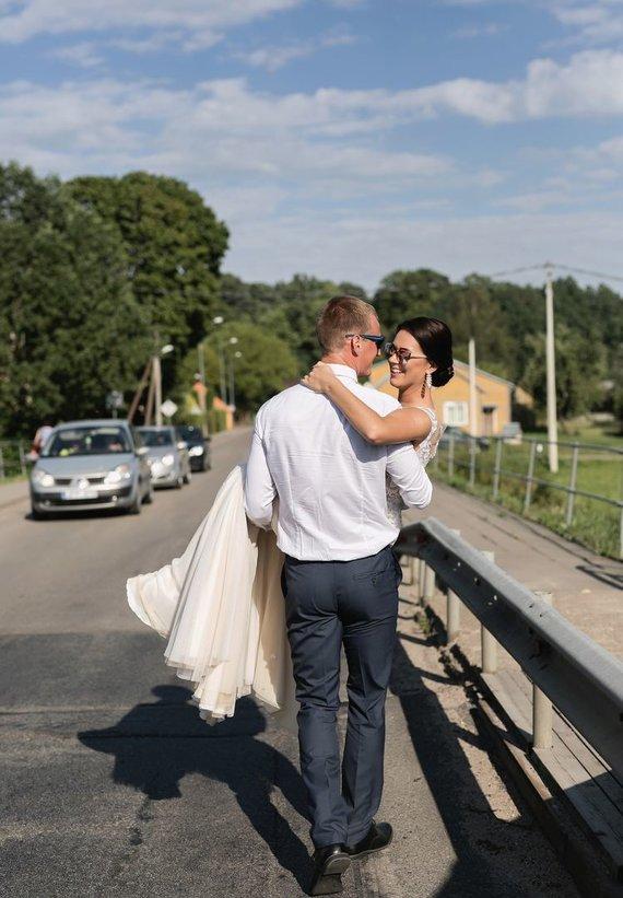 T.Rapolavičiaus asmeninio albumo nuotr./Tadas ir Reda Rapolavičiai