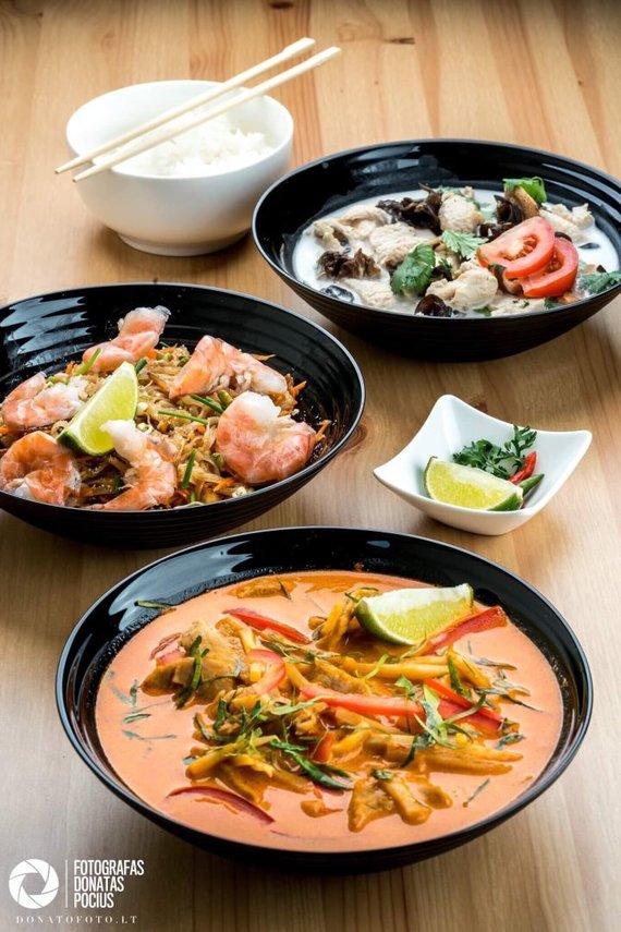 Donato Pociaus nuotr./Tailandiečių maisto retorane