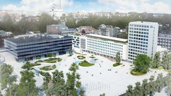 SBA nuotr./Baigtas statyti antrasis BLC verslo centras