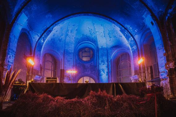 Luko Zagursko nuotr./Šv. Sakramento bažnyčioje surengta Biblijoje minimų patiekalų degustacija