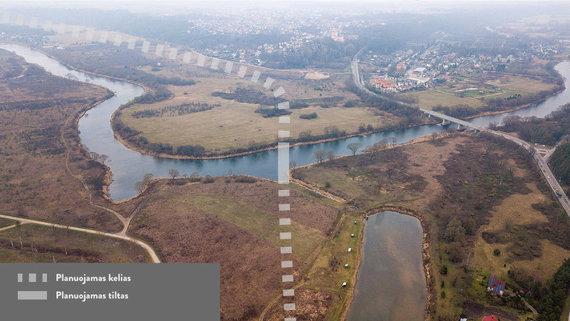 Kauno miesto savivaldybės nuotr./Kauno miesto valdžia planuoja tiesti Raudondvario aplinkkelį
