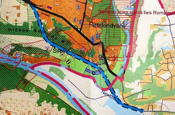 Kauno rajono savivaldybės nuotr./2008 metų Kauno rajono savivaldybės bendrasis planas ir Raudondvario aplinkkelis