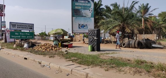 Skaitytojo Andriaus asmeninio albumo nuotr./Klaipėdiečio fiksuoti vaizdai Ganos sostinėje Akroje