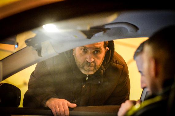 Viktorijos Savickos nuotr./Naktinio Vilniaus policijos reido metu nubaustas tik vienas pažeidėjas