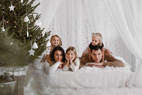 Pienės Pūkas Photography nuotr./Jono ir Agnės Mačiulių šeima