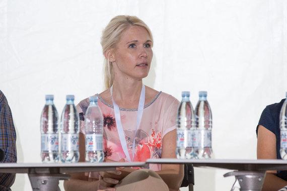 """Mariaus Vizbaro / 15min nuotr./Šarūno Černiausko moderuojama diskusija """"Ar galima nusipirkti Rinkimus?"""""""