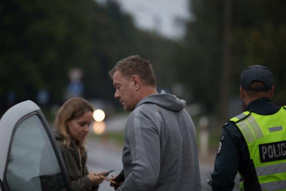 Mariaus Vizbaro / 15min nuotr./Policijos reidas Kaune: neblaivūs vairuotojai ir areštuota mašina