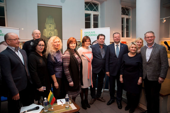 Mariaus Vizbaro / 15min nuotr./Saulius Skvernelis Kėdainiuose susitikime su rinkėjais