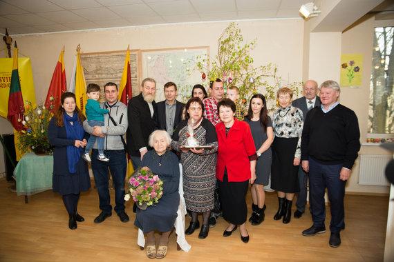 Mariaus Vizbaro / 15min nuotr./Magdelena su artimiausiais šeimos nariais