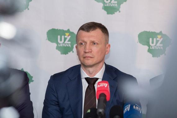 """Marius Vizbaras / 15min. nuotr./Tomas Pačėsas / ,,Už Lietuvą"""" steigimo renginys"""