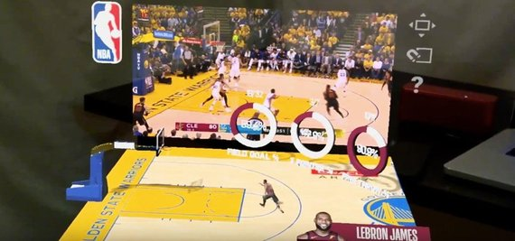 NBA mišrios realybės rungtynės