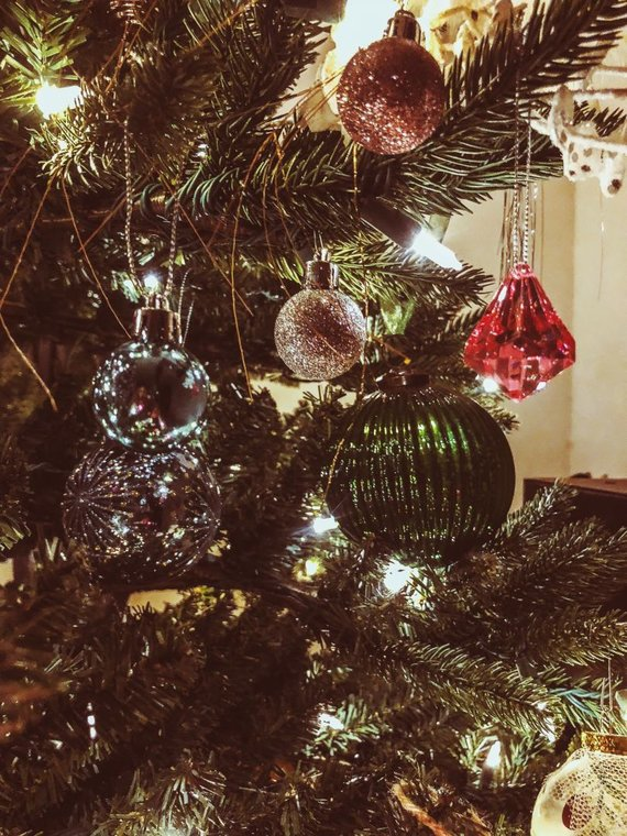 Asmeninio albumo nuotr./Evelinos Young kalėdinė eglutė