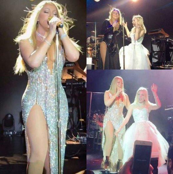 Instagram nuotr./Mariah Carey ir Irene Kogan