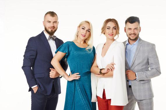 LNK nuotr./Gintas Vaičikauskas, Indrė Stonkuvienė, Ieva Stasiulevičiūtė, Tadas Rimgaila