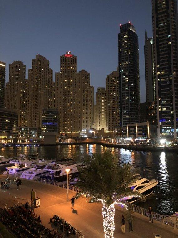 Asmeninio albumo nuotr./Manto Katlerio įspūdžiai iš Dubajaus