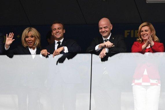 Scanpix nuotr. / Pasaulio futbolo čempionato finalo akimirka