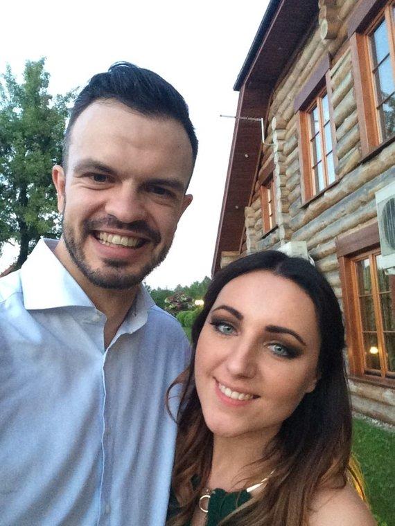 Asmeninė nuotr./Giedrė Girnytė ir Linas Linkevičius