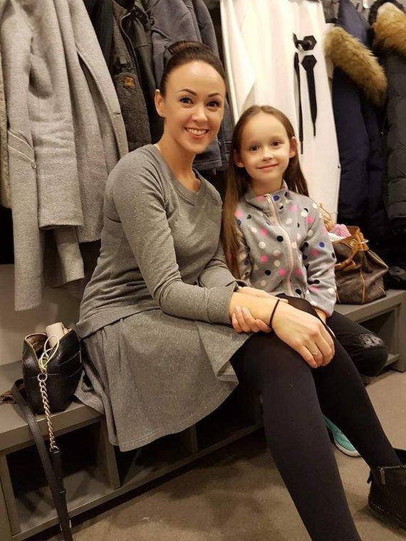 Asmeninė nuotr./Rima Petrauskytė-Malašičevė su dukra