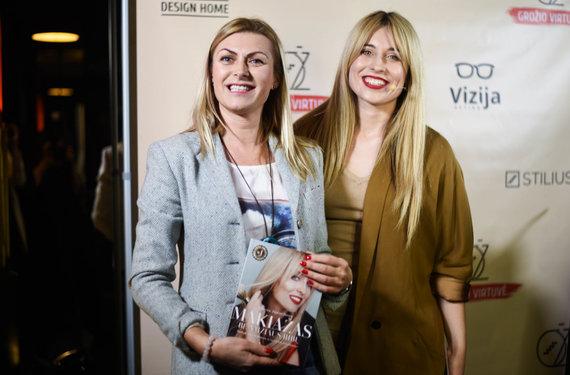 Dominykos Ambroževičiūtės nuotr./Eglė Jackaitė ir Olesia Žuravliova